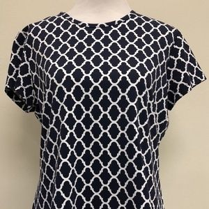 J. McLaughlin Catalina Cloth XL Top